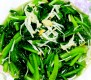 cc375 蒜香金针菇菠菜(素) enoki garlic spinach
